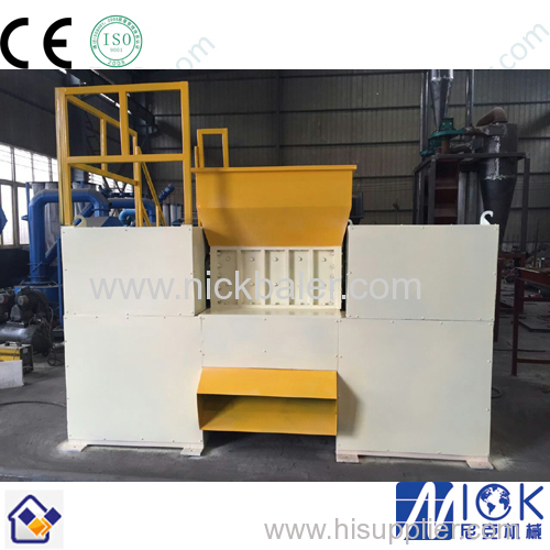 Nick Brand single shaft plastic shredder