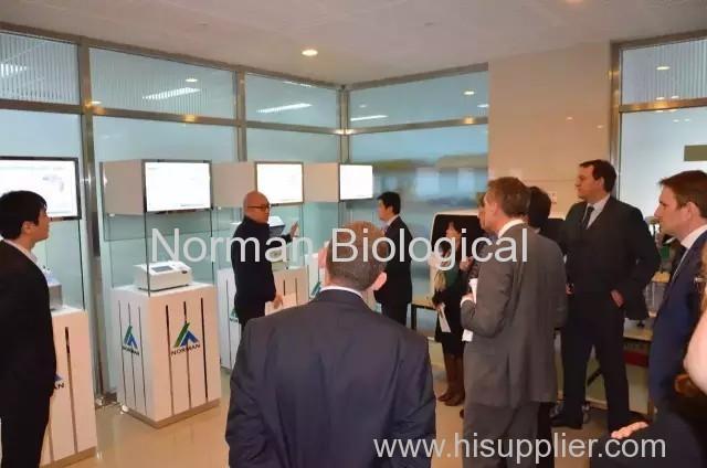 The British entrepreneurs visited Norman