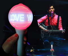 Remote LED Message Glow Ball