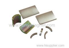 カスタマイズされたN32-n52strongネオジムアークセグメント磁石