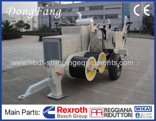 9 Ton Cable Tension Stringing Equipment with Italian R.R. Reducer