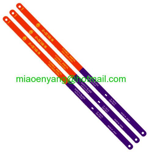 Bi metal hacksaw blade
