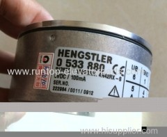 Elevator parts encoder Hengstler 0 533 880 RI76TD