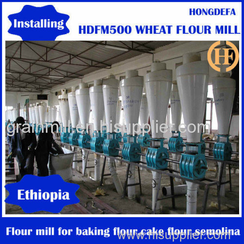 10-500ton per day Wheat Flour Milling Machine with Price