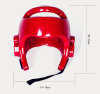 Profesional high quanlity Bar Face Full Protection Boxing Head Guard Stunning Red boxing headgear helmet