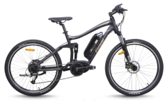 Electric bike mountain mid drive motor model