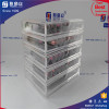 Mint tier wholesale clear acrylic cosmetic acrylic makeup box acrylic makeup drawers