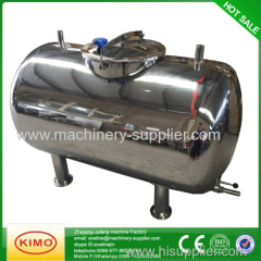 SS milk storage tank for transportation