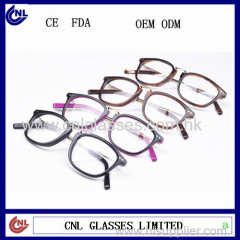 New model acetate eyeglasses frames optical glass