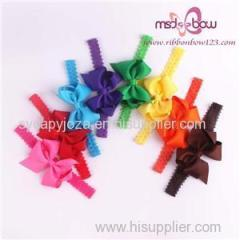 Wholesale Hair Bows Grosgrain Ribbon Bow Baby Girl Hair Accessories