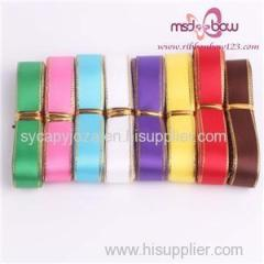 Wired Satin Ribbon Cheap Ribbon For Sale