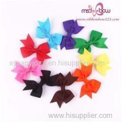 Grosgrain Ribbon Bow With Hair Bow