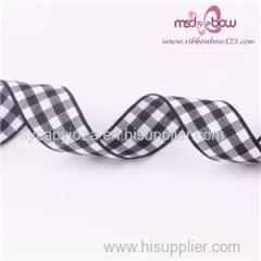 Check Ribbon Satin Ribbon Wholesale