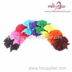 Colorful Bow For Online Hair Bow Shop
