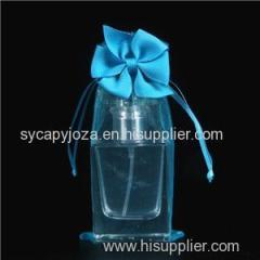 Organsa Bag With Grosgrain Ribbon Bow