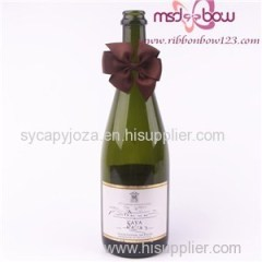 Grosgrain Ribbon Bows For Wine Bottle For Sales
