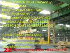 ASTM-A516Gr55|A516Gr60|A516Gr65|A516Gr70|Boiler Steel plate|Steel sheet|