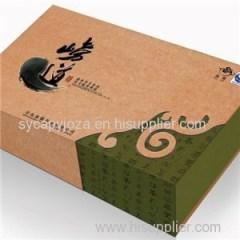 Customized Kraft Cardboard Packaging Carton Packing Box