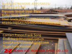 ASTM-A515Gr60 A515Gr65 A515Gr70 Boiler Steel plate Steel sheet