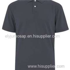 In stock Brand Mens Clothing100%Cotton Printed Polo T-Shirt