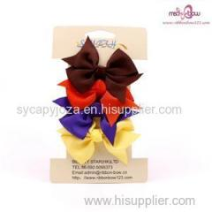 RIBBON BOW WITH PAPERCARD PACKAGE