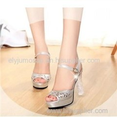 Overstocks Ladies Comfortable Evening Heels Shoes wholesale