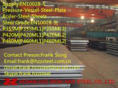 EN10028-5 P420 P420M P420ML1 P420ML2 Boiler Steel plate Steel sheet