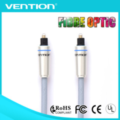 VENTION High Quality braid fiber optic cable ice blue