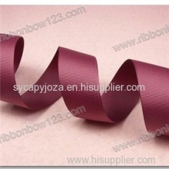 Wholesale Plaid Decorative Polyester Grosgrain Ribbon Suitable Screen Printing Ribbon