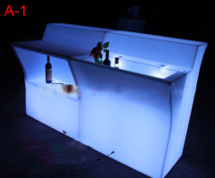 Large Luminous Bar Counter