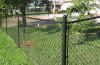 Vinyl Coated Commercial Chain Link Fence