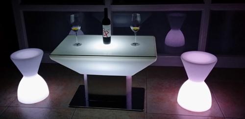 LED Square Luminous Desk