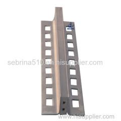 Tile floor Aluminum control joint in building materials