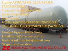 ASTM-A203GrA A203-Grade-B A203-GrD A203-Grade-E Boiler Steel plate Steel sheet