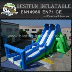 Amazing Insane Inflatable 5K Slide