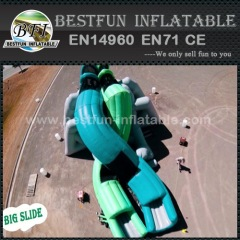 X Slide inflatable Dual Crossing Slide