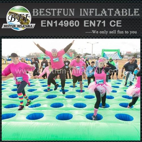 Mattress Run Course 5k inflatables