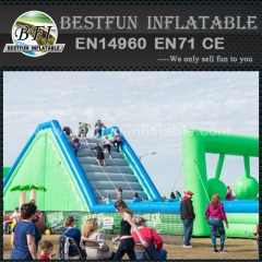 Insane 5K Inflatable Obstacle Course Finish Line