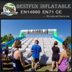5k Inflatable Run obstacle challenge