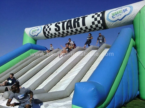 Insane inflatable 5k challenge obstacle games