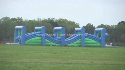 Insane Wrecking Balls Inflatable Obstacle Course 5K
