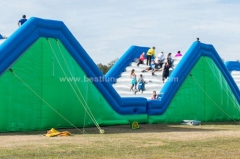 The Humps Inflatable Obstacle Course INSANE 5K