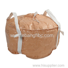 jumbo bag fibc bag with FDA PE liner