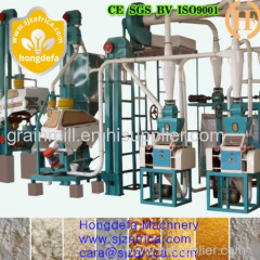small or big scale corn maize milling machine for sale