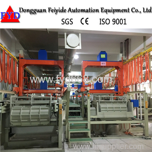 Feiyide Automatic Electroplating Barrel Machine for Chrome Zinc Plating