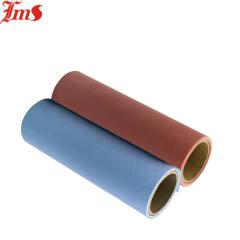 Heat Insulation Colored Thin Cheap Coated Fiberglass Silicone Rubber