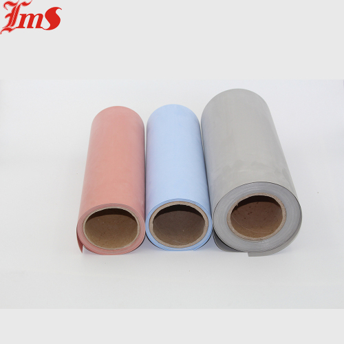Silicone Coated Fiberglass Cloth Rubber Pad Adhesive for
