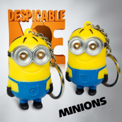 LED Minions Sound Keychain