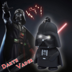 LED Darth Vader Sound Keychain