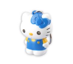 LED Hello Kitty Sound Keychain